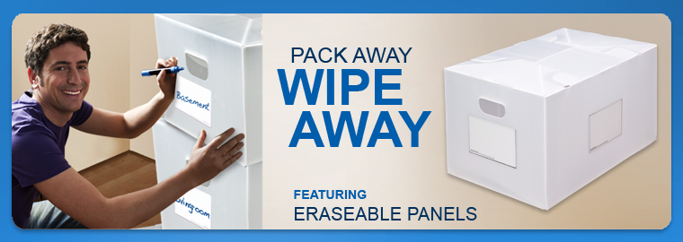Pack Away Wipe Away - Erasable End Panel